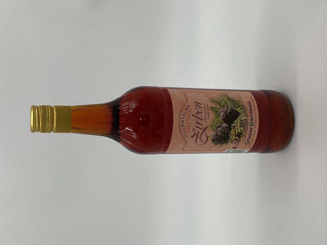 Zillertaler Zirben 30% Alkohol 1 Liter
