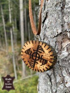 Ginfaxi Symbol Halsband