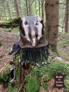 Schamanen Dachs Hut